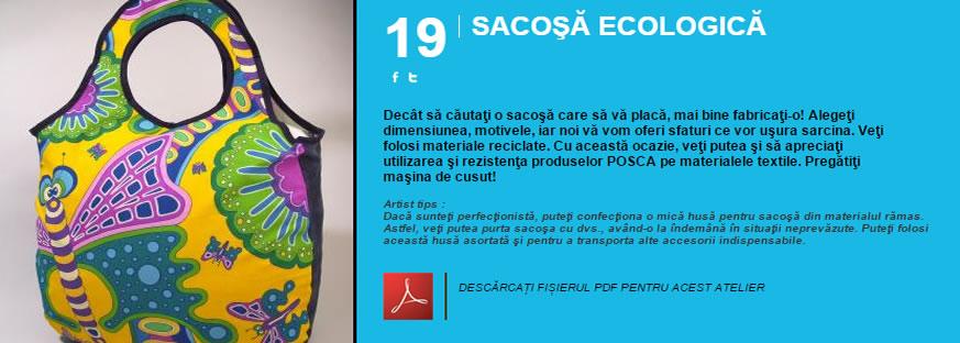 Sacosa ecologica - Atelier